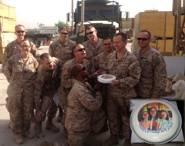 Thank You For Helping Me Make My Husbands Birthday Extra Special Currently Deployed To Afghanistan Catalina 05 20 13